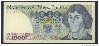 1000 Polska note